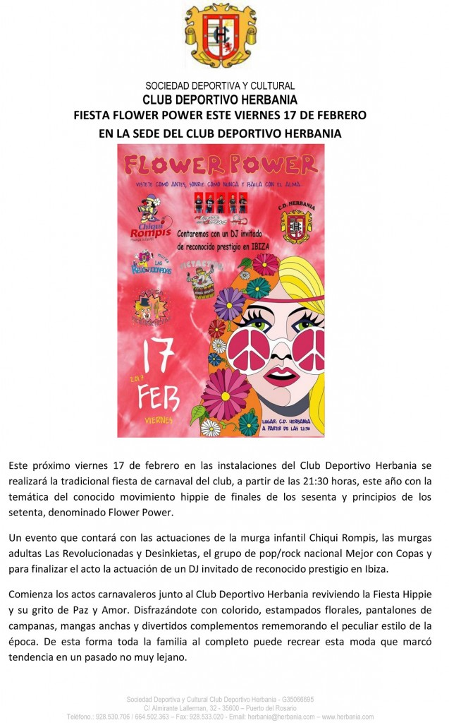 COMUNICADO FIESTA CARNAVAL FLOWER POWER-modificado web