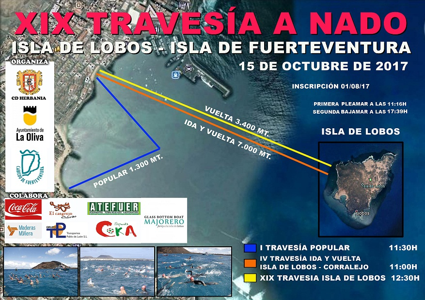 CARTEL TRAVESIA MODIFICADO BAJA